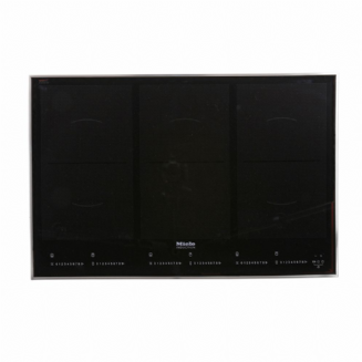 MIELE KM6366 -1 Induction hob | Onset controls | 3 PowerFlex cooking zones